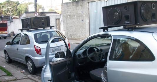 carro que presta publicitarios